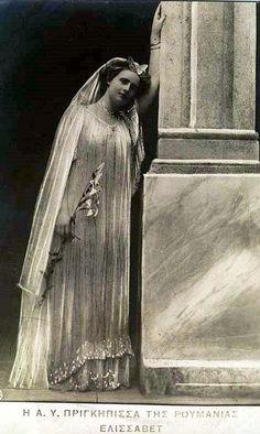 Königin Elisabeth von Griechenland, Queen of Greece Romanian Royal Family, Greek Royal Family, Greek Royalty, Christian Ix, Old King, Prince, Victoria, King Queen, Vintage Photos