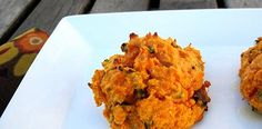 Bacon and Chive Sweet Potato Biscuits #paleo