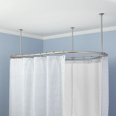Oval Shower Curtain Rod 54 L X 30