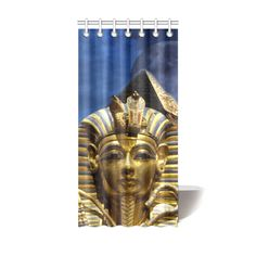 "King Tut and Pyramid Shower Curtain 36""x72"". FREE Shipping. FREE Returns."