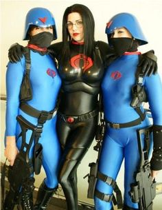 GI Joe - Baroness and Cobra Soldiers