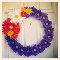 Gerbera Daisy Wreath