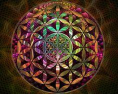 ไт'ร ℘ℓαทтïทg Tï๓ε. Flower of life mandala.