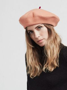 388e191b38f This Le Beret Francais mode beret is the perfect wool beret with a satin  lining.