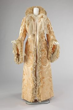 Evening Coat Made Of Silk, By Jean-Philippe Worth, The House Of Worth - French   c.1902   -   The Metropolitan Museum Of Art