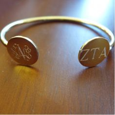 Gold Or Silver Double Engraved Bangle