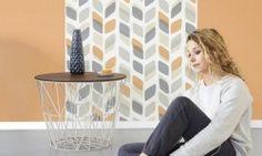 Tapet vinil portocaliu textil UN 1006 Deco 4 Walls Unplugged Flooring, Walls, Flat, Furniture, Design, Home Decor, Christians, Bass, Decoration Home