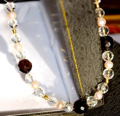 STUNNING Faceted Smokey Quartz Rock Crystal Pearl by MarciaWhiteUK, £340.00