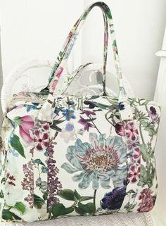 Printed Bags, Pansies, Ted Baker, Gym Bag, Cap, Tote Bag, Makeup, Fabric, Life