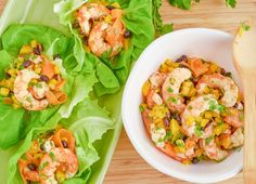 20-Minute Zesty Shrimp Lettuce Wraps | Recipe