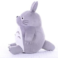 Follow918 Cute My Neighbor Totoro Cartoon Children Grey Plush ToyCreative Doll PillowChristmas GiftsGifts for LoversFamilies and Friends18Inch ** Visit the image link more details.
