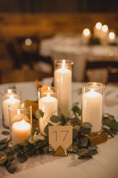 20 Photos of Weddings Using Lots of Candlelight | mywedding