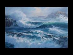 PAINTING FOAM An oil painting demonstration by Alan Kingwell - YouTube