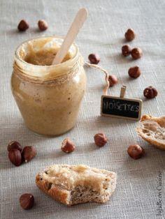 Miel d'écureuil / Pâte de noisettes au miel (noisettes + miel) - Jujube en Cuisine