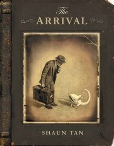 Shaun Tan managed to capture the immigrant experience perfectly using nothing but a whole book full of beautiful illustrations and not a single word.