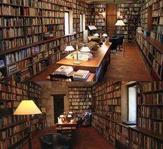 biblioteka należąca do Manguela
