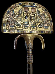 golden fan of tutankhamun by sergiothirteen, via Flickr