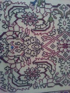 Cross Stitch Patterns, Bohemian Rug, Diy And Crafts, Projects To Try, Xmas Ideas, Decor, Design, Scrappy Quilts, Mandalas