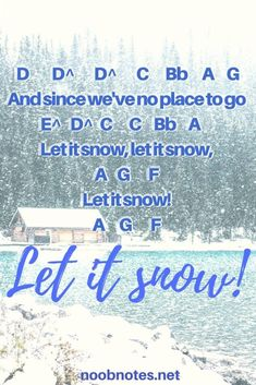music notes for newbies: let-it-snow-music-letter-notes-for-beginners. Play popular songs and traditional music with note letters for easy fun beginner instrument practice - great for flute, piccolo, recorder, piano and Piano Sheet Music Letters, Clarinet Sheet Music, Easy Piano Sheet Music, Piano Music Notes, Saxophone Music, Cello, Disney Piano Music, Keyboard Sheet Music, Keyboard Letters