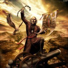 Miguel Hidalgo - Grito de Dolores by GENZOMAN.deviantart.com on @deviantART