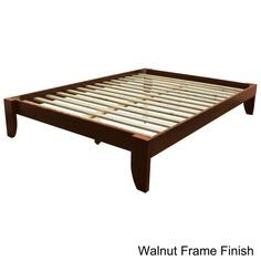 $247 Scandinavia King-size Solid Wood Tapered Leg Platform Bed - Overstock Shopping - Great Deals on EpicFurnishings Beds