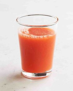 Carrot and Grapefruit Juice with Cayenne