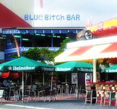 Blue Bitch Bar<>St.Maarten...Eastern Caribbean... going may 4th 2013
