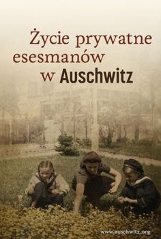 The 'Private Lives of the SS in Auschwitz' takes a look at the perpetrators of the crimes committed in Auschwitz from another, little known and sometimes surprising perspective. It contains a section concerning the testimonies of young Polish women who, during the war, were forced to work at the homes of officers and non-commissioned SS officers from the crew of the German Nazi concentration camp. The English edition of the book is being prepared.