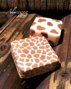 Zoo Soap #giraffe #cow #zootopia #zoo #soap #alicewey #handmade #handmadesoap