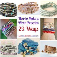 How to Make a Wrap Bracelet: 29 Ways