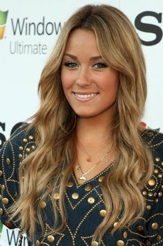 Dang you Lauren Conrad for having the nicest hair ever! Hair envy!! Love this colour maybe for next summer!!