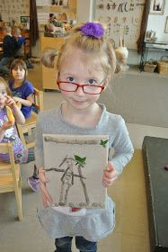 The Wonderful World of Kindergarten: Our children are so creative with sticks and clay