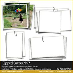 KPeriet- Clipped Stack Papers