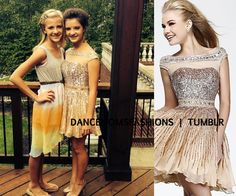 Dress - $450.00 Sherri Hill Paige is wearing flip flops and she is the same height as Brooke in heels