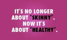 Niet dun maar gezond