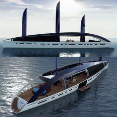 The Soliloquy. Super Modern, Super Luxurious, Super Green Superyacht.