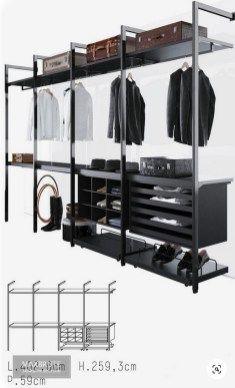 Wardrobe Storage, Bedroom Wardrobe, Wardrobe Closet, Master Closet, Walk In Closet Design, Bedroom Closet Design, Closet Designs, Bedroom Decor, Garderobe Design