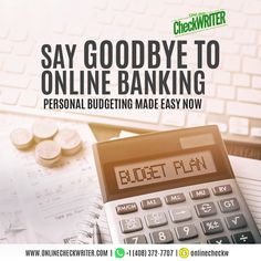 The freedom of accessing all bank data and account transactions and handling your expenses from one place is ingenious. With our personal budgeting software, you can manage the task with ease. Check Printing, Online Printing, Order Checks Online, Payroll Checks, Check Mail, Writing Software, Business Checks, Work From Home Jobs, Personal Finance