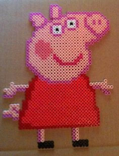 perler peppa - Google Search