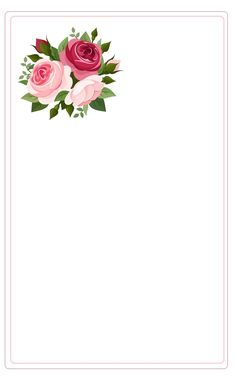 Pretty paper Wallpaper Backgrounds, Iphone Wallpaper, Wallpapers, Eyebrow Embroidery, Boarders And Frames, Writing Paper, Border Design, Note Paper, Flower Frame