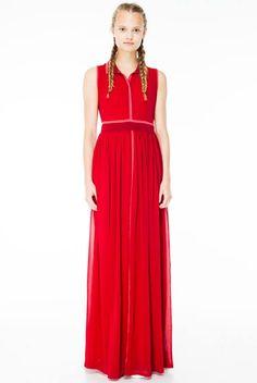 Cittadella chiffon dress