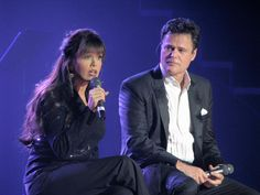 Donny and Marie Vegas stage