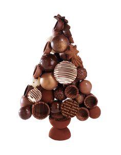 Sapin : création Jean-Paul Hévin pour Noël 2004. http://www.jphevin.com