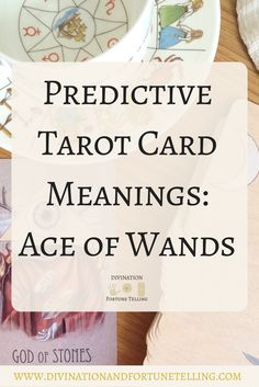 In a Tarot card reading, The Ace of Wands in a spread can be a symbol of new beginnings. This post includes vintage and modern fortune telling meanings of the 1 of Wands, ideal for the advanced reader or those just learning the cards. These interpretations can be used with any of the decks (Rider Waite, Marseilles etc.) Cards used in this post are from The Wooden Tarot deck.