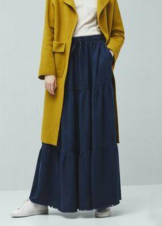 35 best ideas skirt hijab casual for women Street Hijab Fashion, Abaya Fashion, Muslim Fashion, Ootd Fashion, Modest Fashion, Trendy Fashion, Fashion Outfits, Hijab Casual, Hijab Chic
