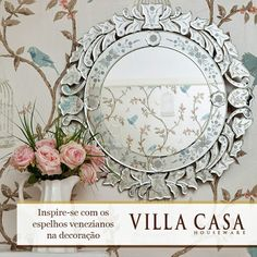 Villa Casa Houseware: Decoração-espelho veneziano