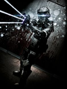 Isaac Clarke of Dead Space by Kevin Leab Thong http://tarrer.deviantart.com/gallery/37349473