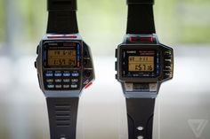 The original smartwatches: Casio's history of wild wrist designs | The Verge