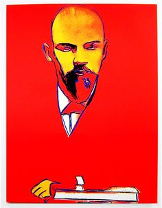 Andy Warhol, Lenin, 1986.