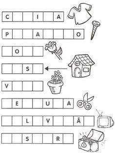 Resultado de imagem para atividades de alfabetização